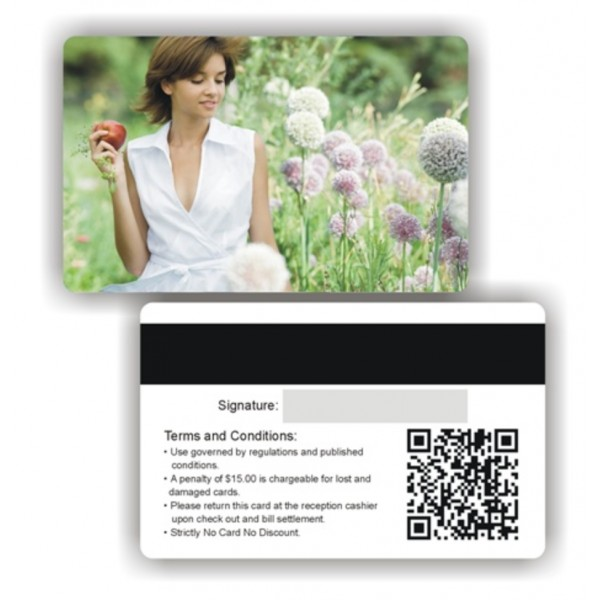Impression cartes pvc transparentes