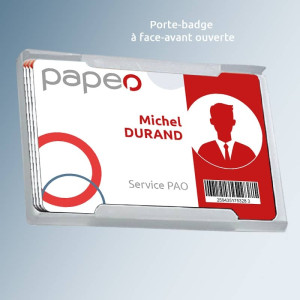 Porte-badge rigide pour carte
